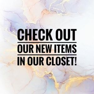 NEW ITEMS ......Check out what I have